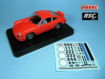 Mrrc 1:32 Porsche 911 Rs Orange Track Day With Decals - Sebring Chassis
