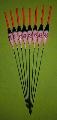 8 x Assorted High Quality Pole Fishing Floats (Pack 337R8)