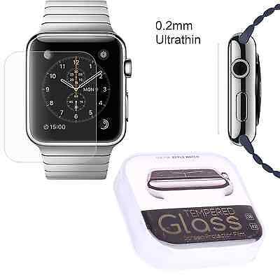 Premium HD Quality Tempered Glass Screen protector For Apple Watch 1 2 in 38 mm