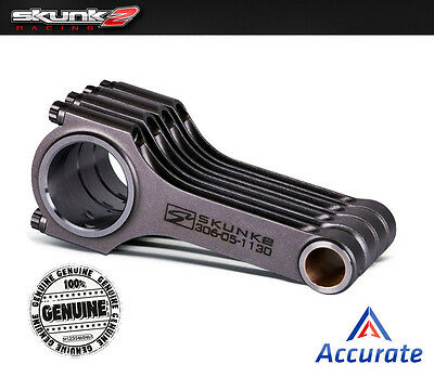Skunk2 Connecting Rods Alpha Series Acura Honda K24 K24A K24Z 306-05-1150