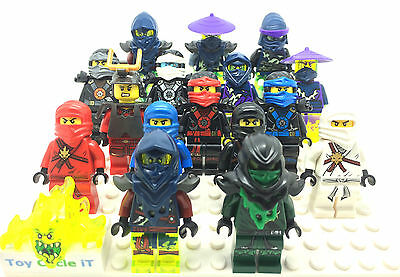 LEGO Genuine Ninjago Minifigures To Choose From Kai, Jay, Cole, Zane, Nya, ETC
