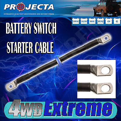 Projecta Battery Switch Starter Cable Many Sizes Avalible - Lug Eyelet