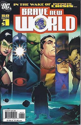 Brave New World #1 from DC in NM