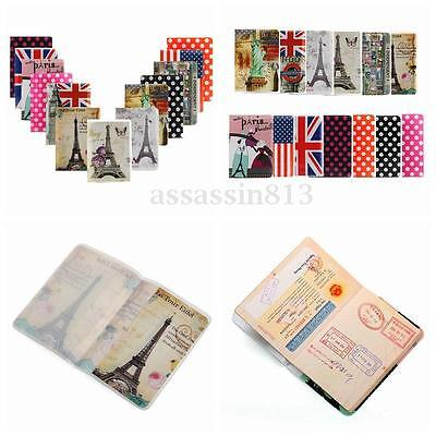 New Journey Travel Passport Holder Wallet Purse ID Card Organizer Case Cover HOT