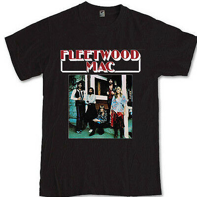 FLEETWOOD MAC tee Stevie nicks blues Rock band S M L XL 2XL 3XL T-SHIRT