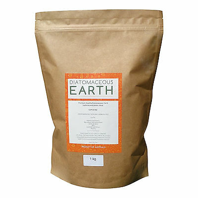 Diatomaceous Earth No-Grit Superfine Food Grade Powder - 1kg, 2.5kg, 4.5kg