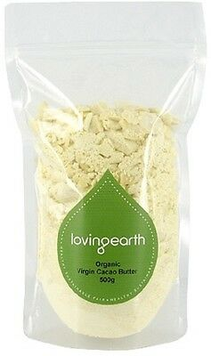 Loving Earth Virgin Cacao Butter 500g