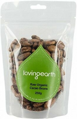 Loving Earth Cacao Beans 250g