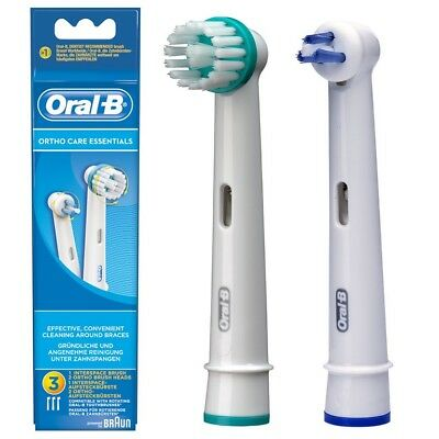 Oral-B®  Ortho Care Essentials Boite De 3 Brossetes
