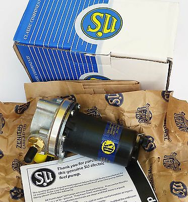 SU AUA66 Genuine Burlen 12V Fuel Pump for Morris Minor & Series 1 Land Rover