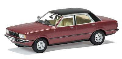 Ford Cortina Mk4 2.0 Ghia RHD Jupiter Red BY Corgi Vanguards  1/43 Car refZ112