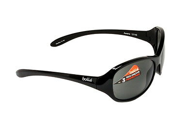 Bolle Sunglasses Children's Kid's Awena Shiny Black TNS 12146 - Mauritius