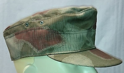 M41 Hat   BGS  German Border Guards / Sumpftarn  Camouflage  - Made in Germany -