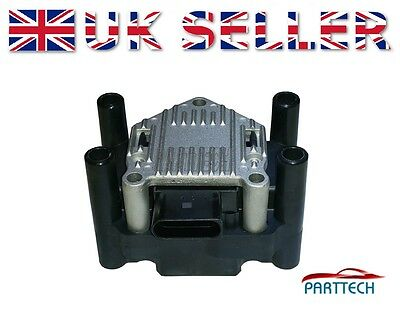 Vw Golf Mk4 Bora Caddy Polo Passat New Beetle Ignition Coil Pack Rail New