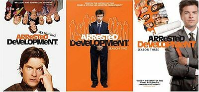 NEW Arrested Development: The Complete Series (Seasons 1-3 Bundle) (DVD)
