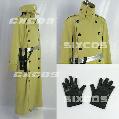 Hellsing-Captain Cosplay Costume