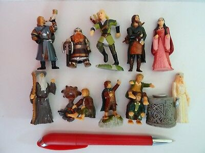 LORD OF THE RINGS 1 KINDER SURPRISE Complete Figures Set  miniatures collectible