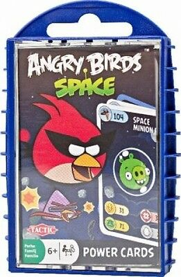 Tactic 940809 - Angry Birds Space Power Cards (Spielware) NEU