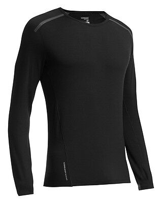 ICEBREAKER Mens Comet Long Sleeve Crewe 150 g/m²