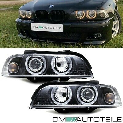 BMW E39 Angel Eyes Xenon Scheinwerfer Facelift weiße Blinker Upgrade 00-03 D2S