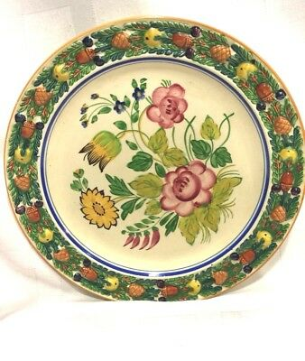 Antique, Plate, Royal Adams Titian ,england,hand Painted