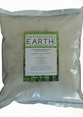 Diatomaceous Earth Food Grade Regular Particle Size- 1kg, 2.5kg, 4.5kg