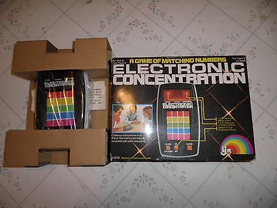Electronic Concentration Vintage Game - 1979 LJN #3039 NEW RARE