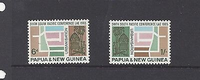 P.N.G. 1965 6th South Pacific Stamp Set