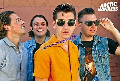 "Arctic Monkeys Rock Band Music Paper Poster #7 23.4""x34.5"""