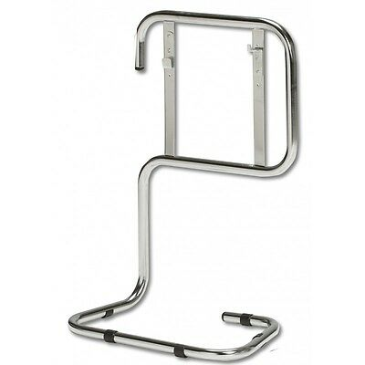 CLEARANCE SALE.  FSS UK Chrome Tubular Fire Extinguisher Stand - Double