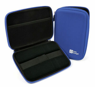 Blue Shell Hard EVA Cover Case for WD Elements 1TB & 2TB External Hard Drives