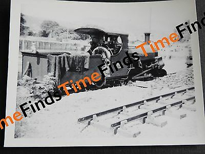 RAILWAY PHOTO FFESTINIOG RAILWAY LOCO LINDA c1960s NARROW GAUGE