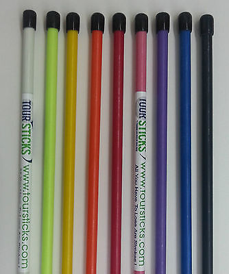 Tour Sticks Alignment Golf blau pink grün schwarz weiss orange rot gelb Junior C