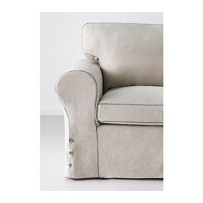 Ikea Ektorp armchair COVER ONLY RISANE NATURAL £140 RRP NEW 402.408.85
