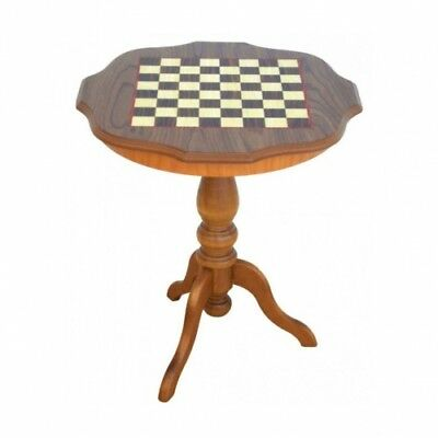 Chess table - Height 61 cm - curved edge