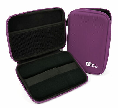 Purple Shell Hard EVA Cover Case for WD Elements 1TB & 2TB External Hard Drives
