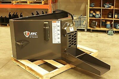 FFC Skid Steer Concrete Bucket 3/4 Yard - Precision concrete placement