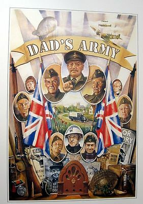 Dads Army Fantastic Art POSTER