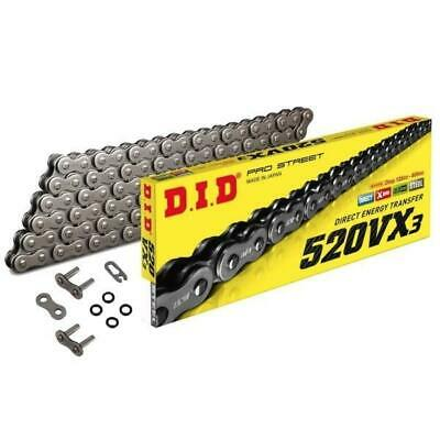 DID HD X-Ring Motorcycle Chain 520VX2 92 fits Kymco 300 Maxxer 05-08