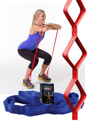 Thera-band Theraband CLX Consecutive Loops Resistance Bands. Yoga Exercise Aid.