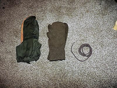 Od Military Mitten Set Cold Weather Trigger Finger Large Gloves Mittens Us Army