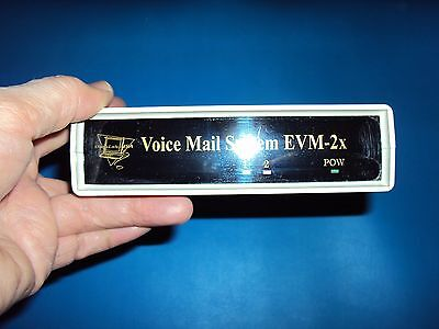 2 line answering system with voice mail and full featured auto attendant NEW