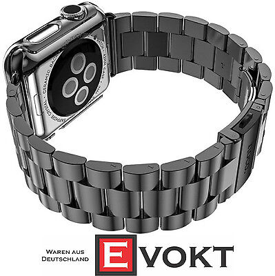 Hoco Bracelet For Apple Watch With Case 38mm Stainless Steel Space Gray Genuine