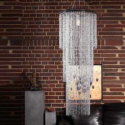 LUXURY DESIGN CHANDELIER TROPICAL RAIN | 150 cm | pendant lamp, lampshade