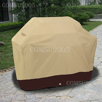 Outdoor Heavy Duty BBQ Cover Gas Electric Charcoal Barbecue Grill Storage CQ5PB