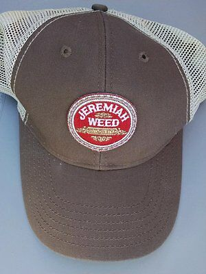 Jeremiah Weed Southern Style Brown Truckers Hat Mesh Cap