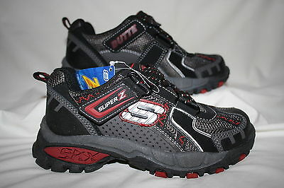 fd4428111d37 BOYS SKECHERS GRAY RED YELLOW S Lights Shoes - See Listing For Size ...