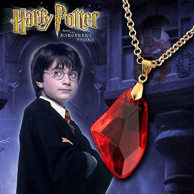 Harry Potter Pendant With Gold Plated Chain Sorcerer´s Stone Authentic Replica