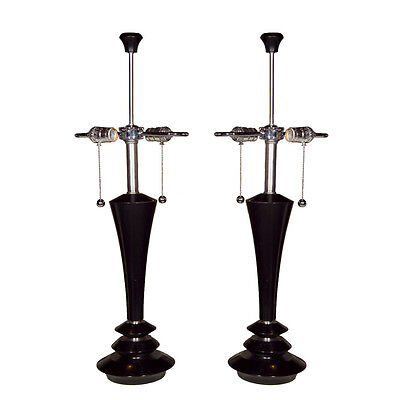 Pair of Art Deco Style Lamps  102-6634