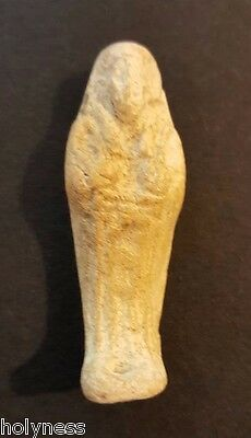 Antique Egyptian Mummy Clay Amulet / 300 Bc / Rare / #2